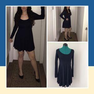 Dark navy blue minidress by Forever 21. Size S